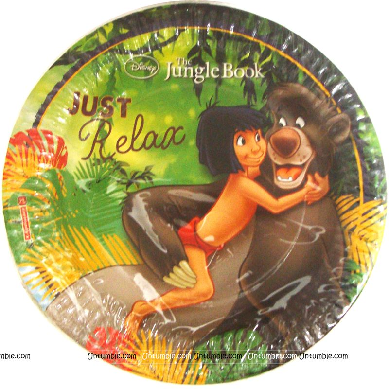 Jungle Book Mowgli Party Plates (Pack of 10)