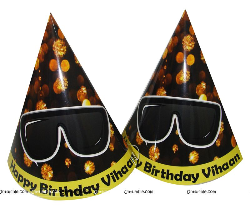 Kaala Chashma Party Hats (Set of 6)