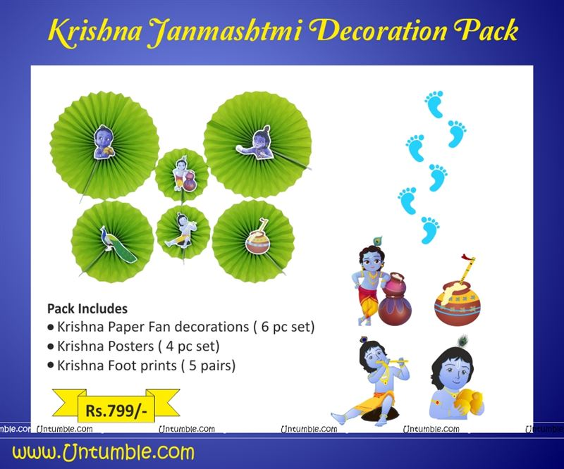 Janmashtmi Decor Pack