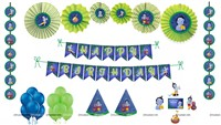 Little Krishna Theme Paper Fan Kit