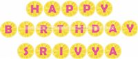 Lemonade Happy Birthday Bunting