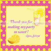Lemonade Thank you Cards
