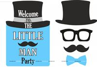 Little Man Poster pack of 5