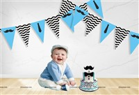 Little Man theme Flag Buntings (10ft)