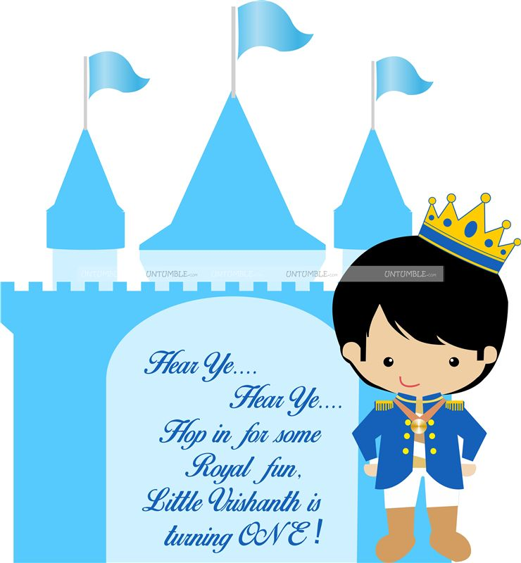 Cute Prince Entrance Cutout