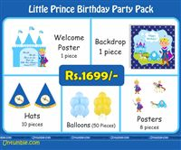 Little Prince Theme Mini Party Pack