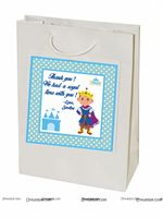 Little Prince Birthday theme Stickered gift bags
