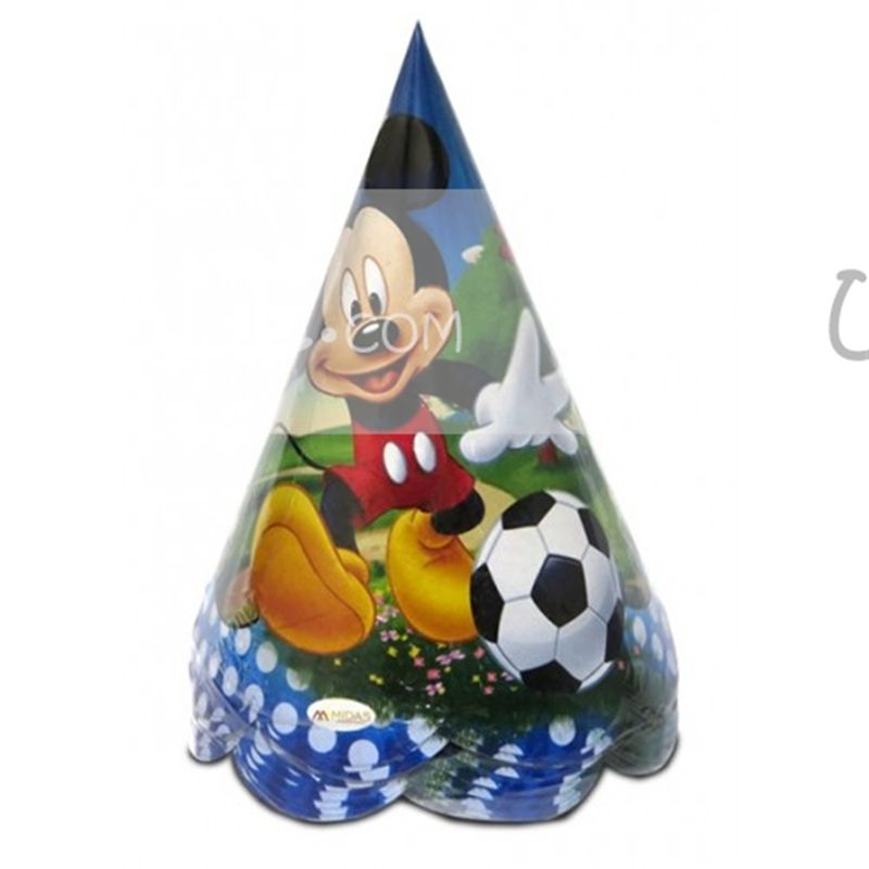 Mickey Mouse Party Hat (Set of 10)