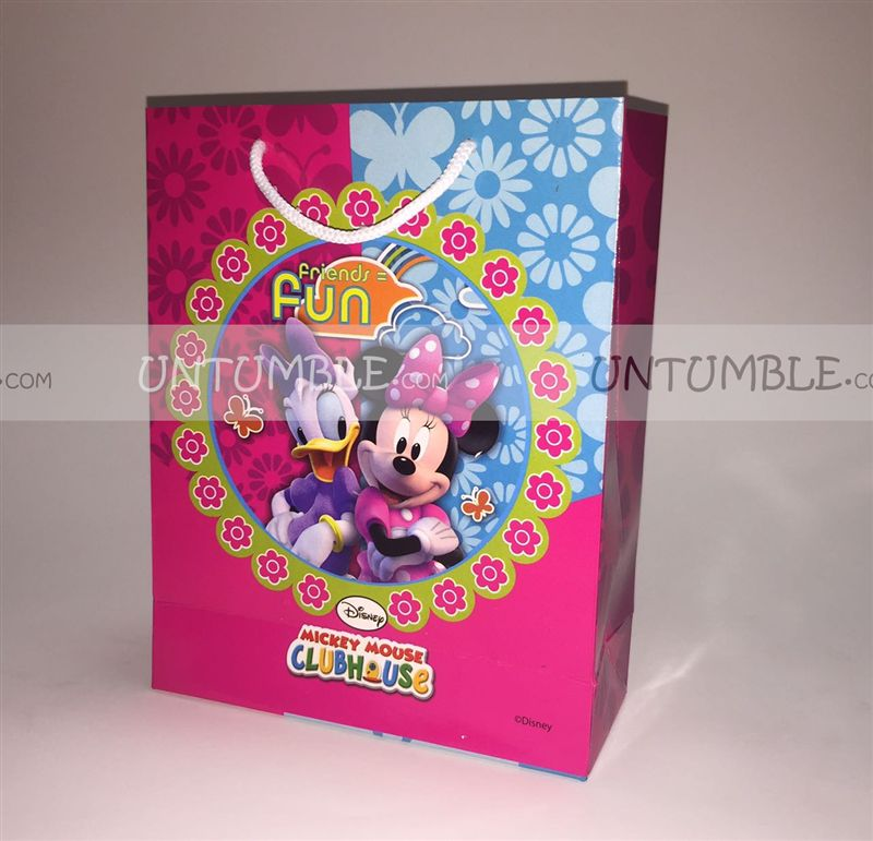 Minnie & Daisy Duck Printed Gift Bags