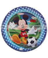 Mickey Club House Birthday Party Plate