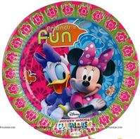Daisy Duck and Minnie Mouse Plates