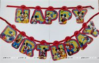Mickey Happy Birthday Bunting