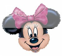 Minnie Face Foil Balloon