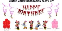 MInnie Mouse theme party decoration kit (Pack of 31 pcs)