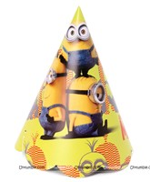 Hats - Minion theme party supplies
