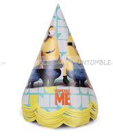Minion Party Hats (Pack of 10)