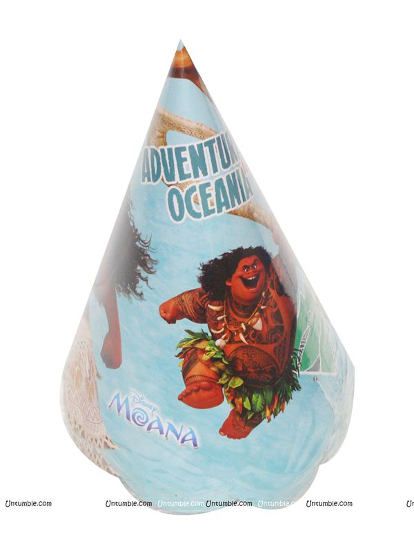 MOANA PAPER CAP (Set of 10)