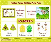 Monkey theme Mini Kit