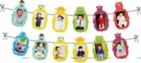 Monster Theme Photo Bunting