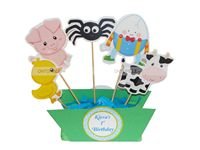 Nursery Rhymes Birthday theme Center pieces