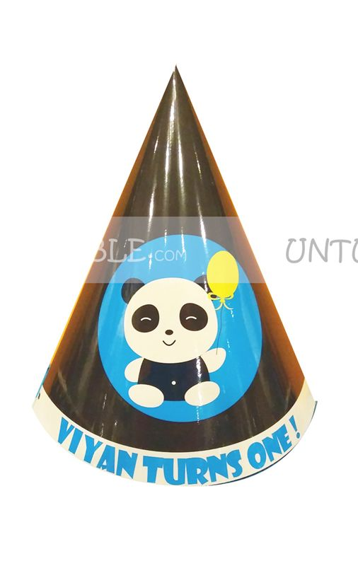 Panda Party Hats (Set of 6)