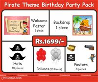 Pirate Theme Mini Party Pack