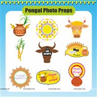 Pongal Photo Props