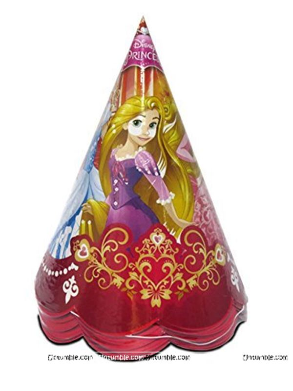 Disney Princess Party Hats (Pack of 10)