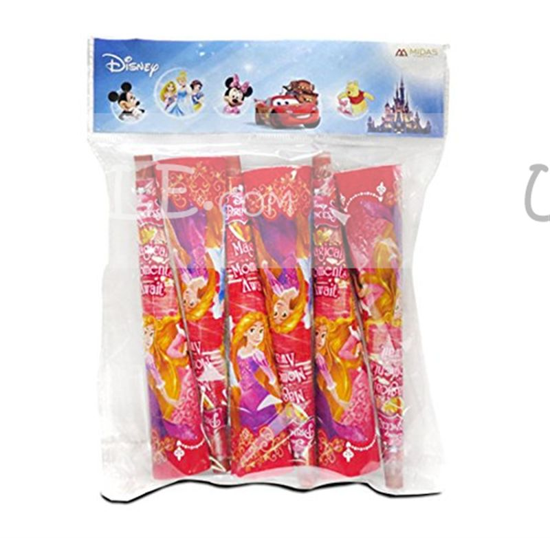 Disney Princess Party Horn Hooter ( Set of 6 )