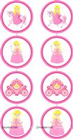 4 ft Princess danglers (Pack of 2)