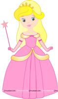 Princess with wand