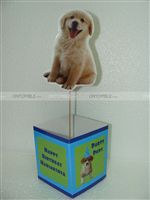 Cute Dog Centerpiece