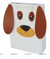 Puppy Pawty Return Gift bag (Pack of 6 )