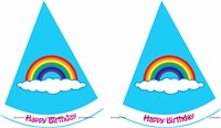 Rainbow Hats (Set of 6)