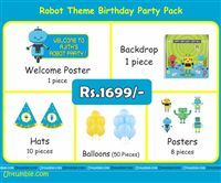 Robot Theme Mini Party Pack