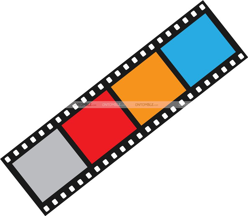 Film Reel Cutout