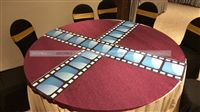 Film Reel table runners