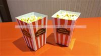 Rockstar-Movie theme pop corn tubs