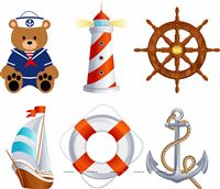 Sailor Party Posters (Pack of 6 )