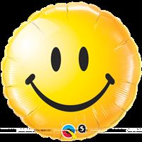 Smiley Round Foil Balloon