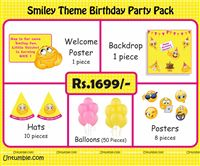 Smiley Theme Mini Party Pack