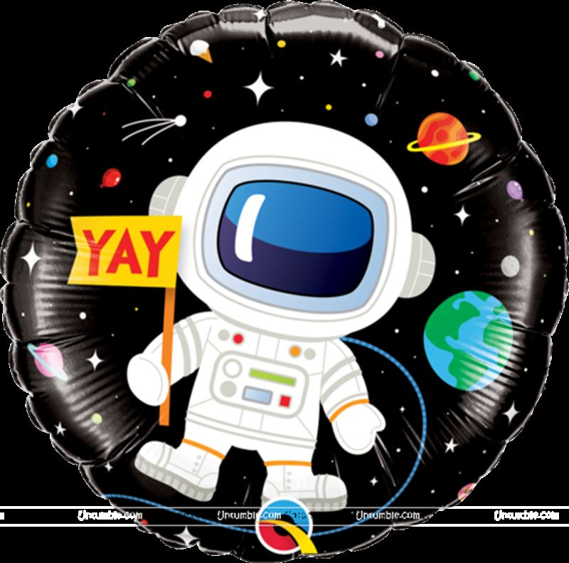 Space Astronaut Foil Balloon (18