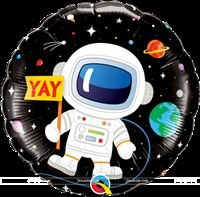 "Space Astronaut Foil Balloon (18"")"