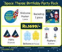 Mini Kit - Rs 1699 - Space theme birthday party supplies