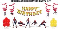 Spiderman theme party decoration kit (Pack of 31 pcs)