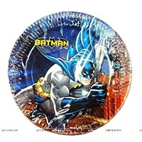 Batman Birthday Party Plate