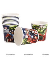 Avengers Theme Paper Cups (Pack of 10)
