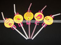 Tweety Birthday theme Straw toppers
