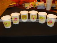 Cups - Theme based - Tweet Bird Theme Birthday Party