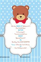 Teddy Theme Invitations
